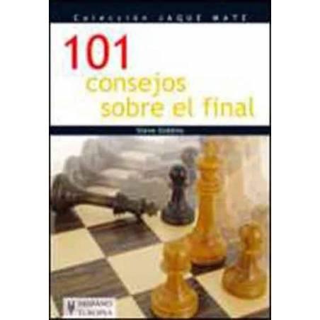 libro ajedrez 101 consejos sobre el final