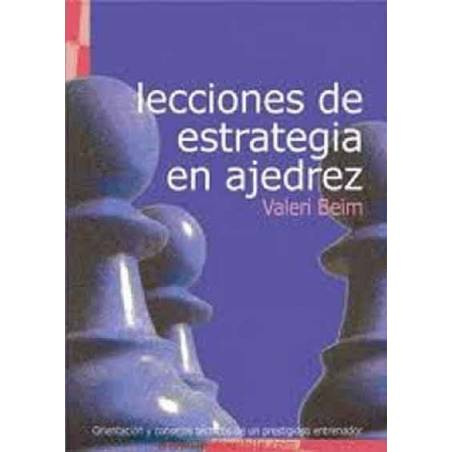 Book Lessons in Chess Strategy
