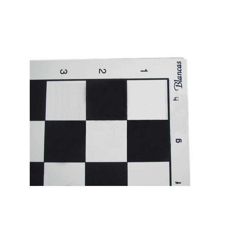 Tablero ajedrez de plástico 45x45 MS