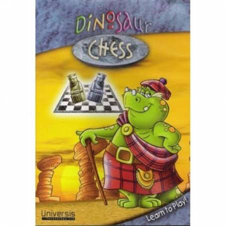 Chess dinosaur. Learn how to play