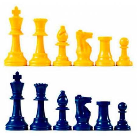 Piezas ajedrez Básicas Club de colores
