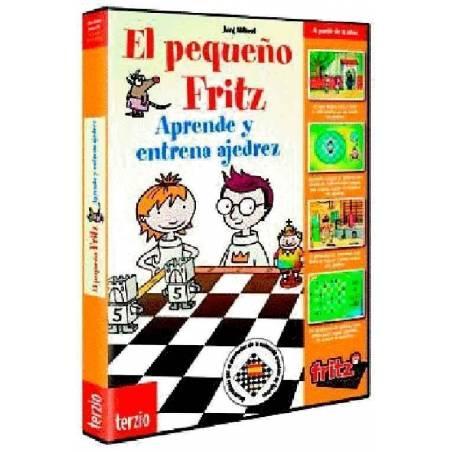 El pequeño Fritz 1. Aprende y entrena ajedrez programa de ajedrez para niños