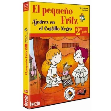 El pequeño Fritz 2. Ajedrez en el castillo negro chess program for kids