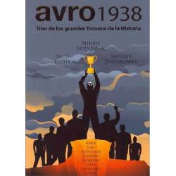 Chess book Avro 1938. One of the major tournaments in history