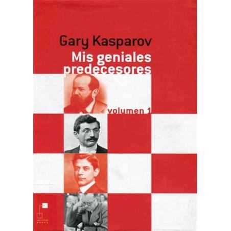 Libro ajedrez Mis geniales predecesores 1