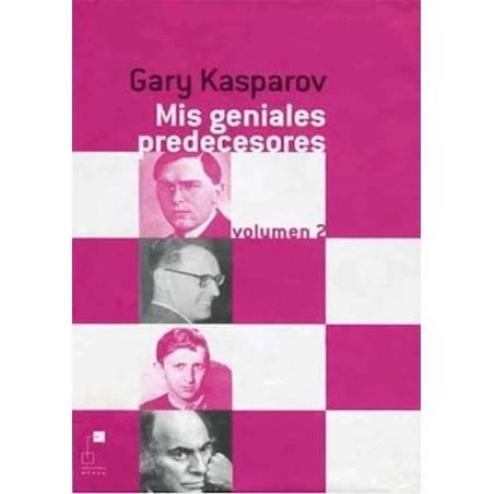Libro ajedrez Mis geniales predecesores 2