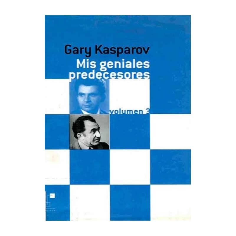 Libro ajedrez Mis geniales predecesores 3