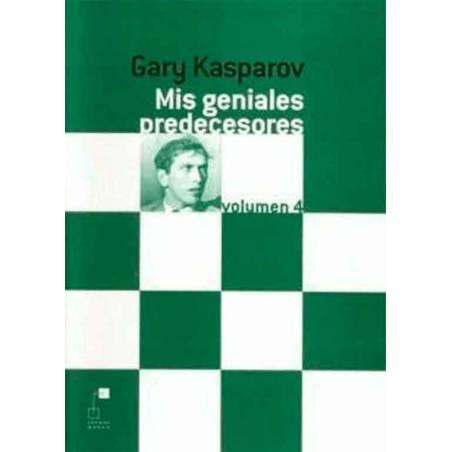Libro ajedrez Mis geniales predecesores 4