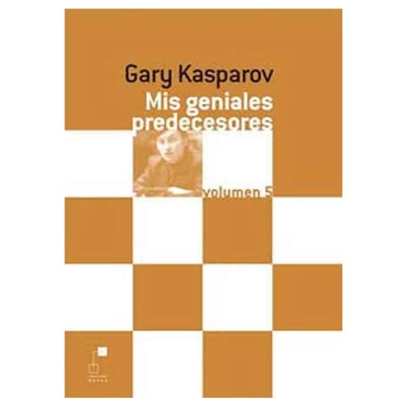 Libro ajedrez Mis geniales predecesores 5