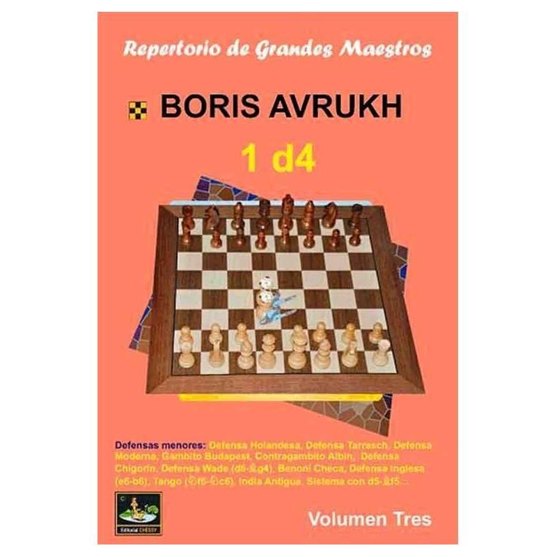 Libro ajedrez Repertorio grandes maestros d4