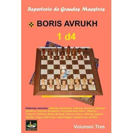 Llibre escacs Repertori de grans mestres 1.d4 vol.3