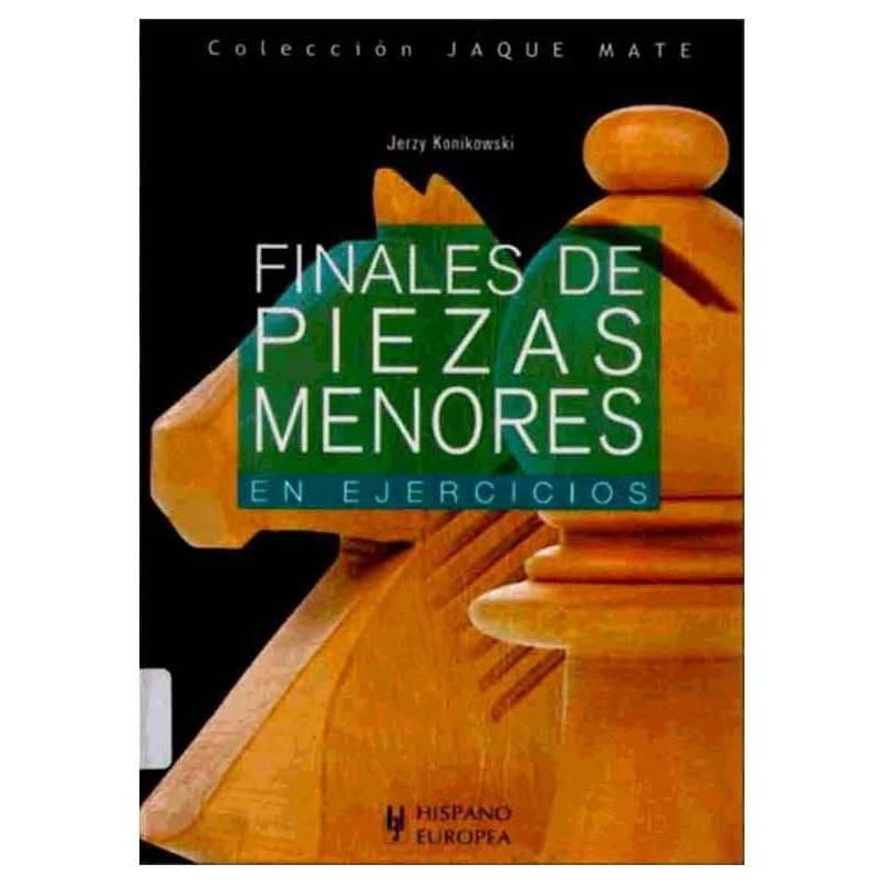 Libro ajedrez Finales de piezas menores en ejercicios