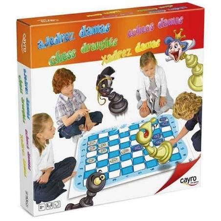 Tauler gran escacs i dames 1m2