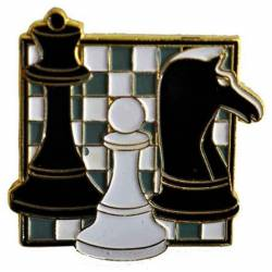 Pin tablero ajedrez