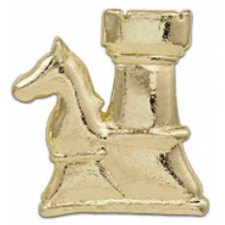 Pin golden chess