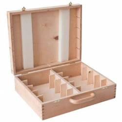 Box for 10 Watches chess Garde