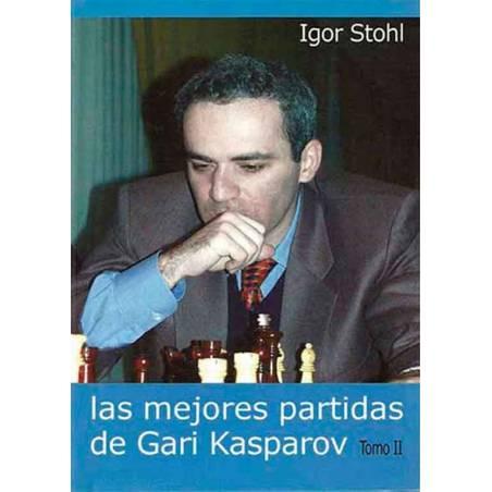 Chess book Las mejores partidas de Gari Kasparov vol.2