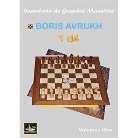 Libro ajedrez Repertorio de grandes maestros 1.d4 vol.1