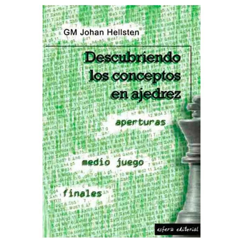 Libro ajedrez Descubriendo los conceptos en ajedrez