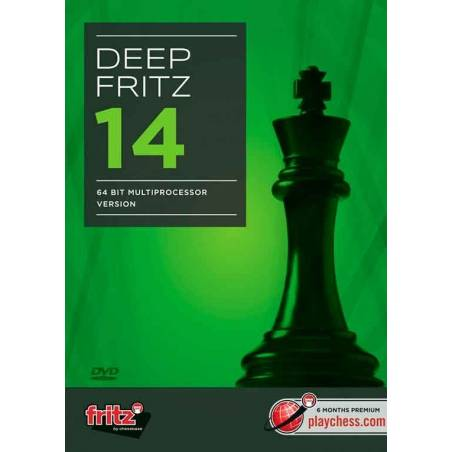 Deep Fritz 14 chess - Spanish edition