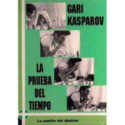 Libro ajedrez Kasparov La prueba del tiempo