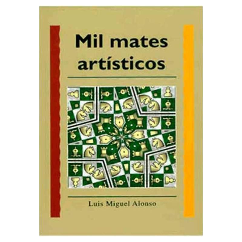 Libro ajedrez Mil mates artísticos