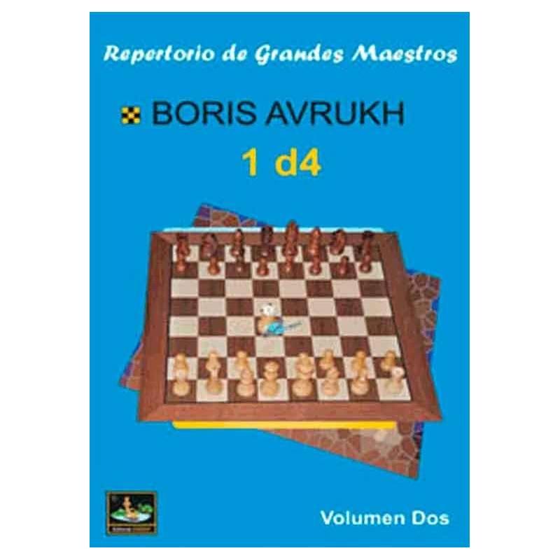 Libro ajedrez Repertorio de grandes maestros 1.d4 vol.2