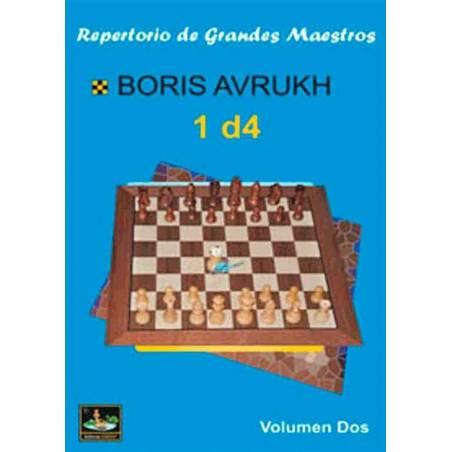 Llibre escacs Repertori de grans mestres 1.d4 vol.2