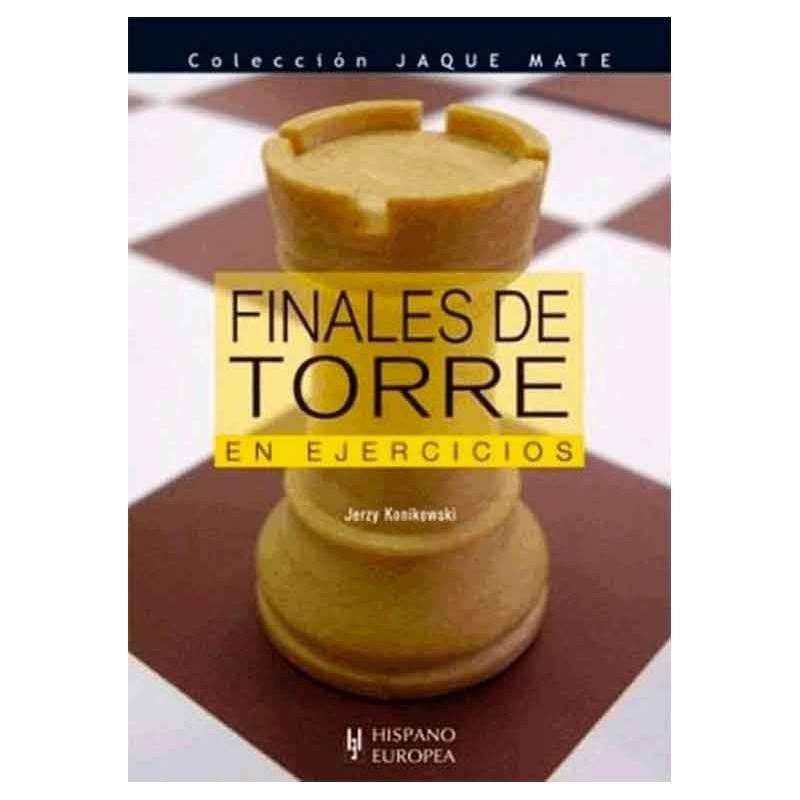 Libro ajedrez Finales torre ejercicios
