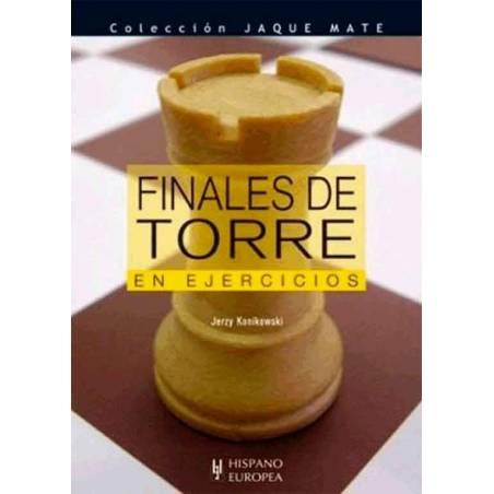 Llibre escacs Finals de torre en exercicis