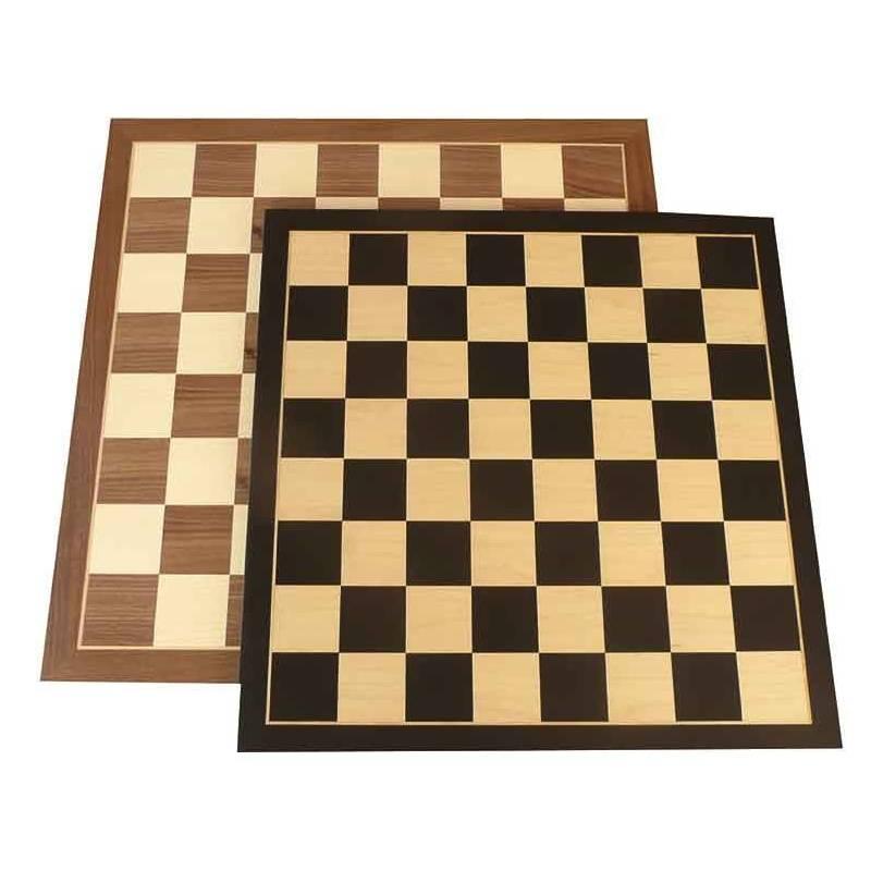 Tablero ajedrez madera entrenamiento