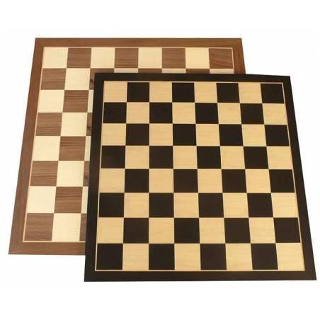 Tauler escacs fusta entrenament