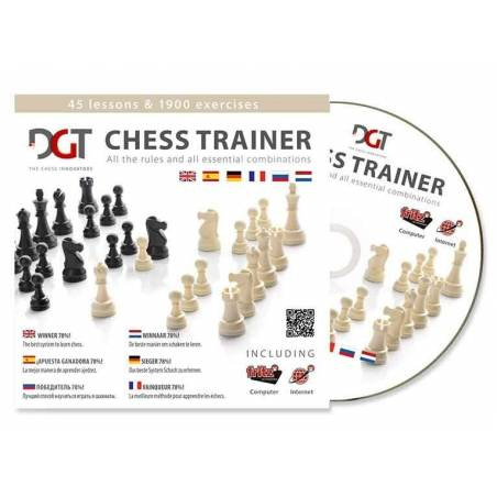 CD Entrenador de ajedrez Chess-Trainer