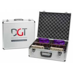 Caja para guardar 10 relojes ajedrez DGT diferentes modelos