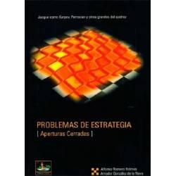 Libro ajedrez Problemas estrategia Cerradas