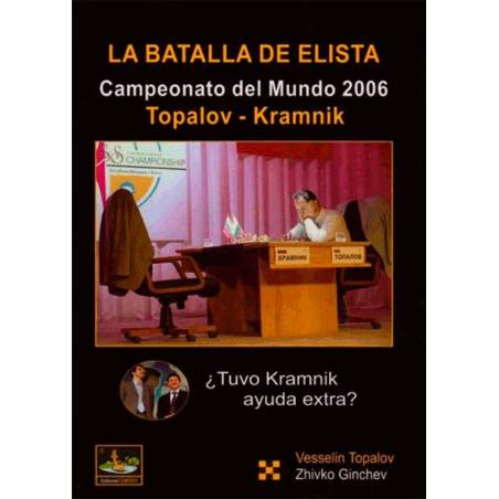Chess book The battle Elista