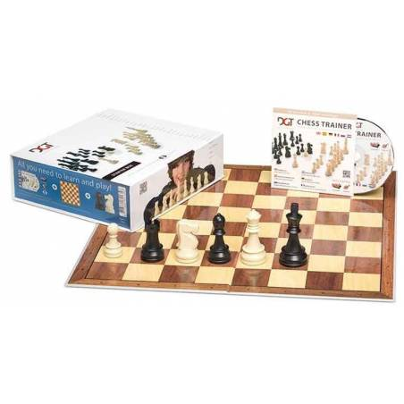 DGT Chess Starter Box Blue (board, pieces and cd)