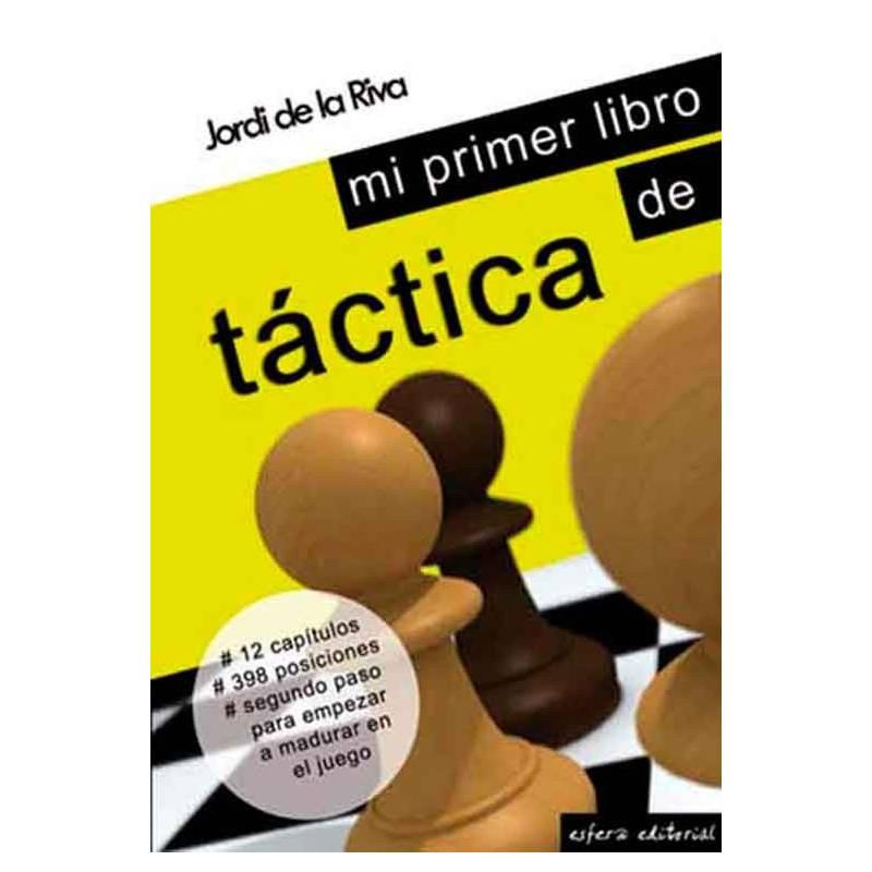 Libro ajedrez Mi primer libro de táctica