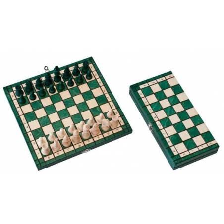 Conjunto ajedrez en 3 colores