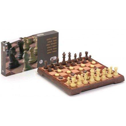 Escacs-dames magnètic Cayro 24 cm.