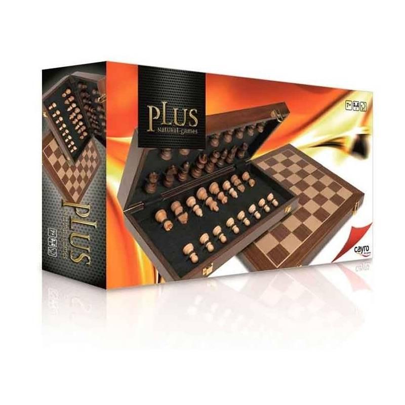 Conjunto ajedrez marquetería plus  Cayro 8422878616015