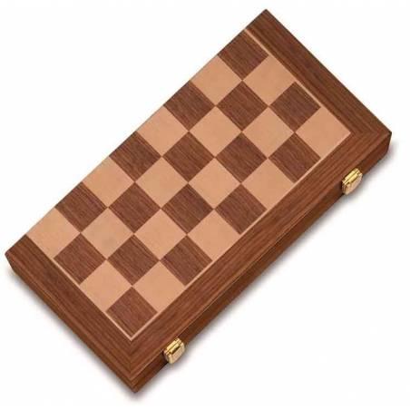 Conjunto ajedrez marquetería plus