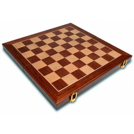 Plus inlaid chess set