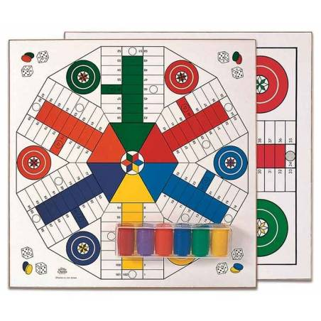 Parcheesi 4 and 6 players accessories