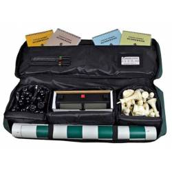 Conjunt escacs competició tauler, peces i bossa viatge