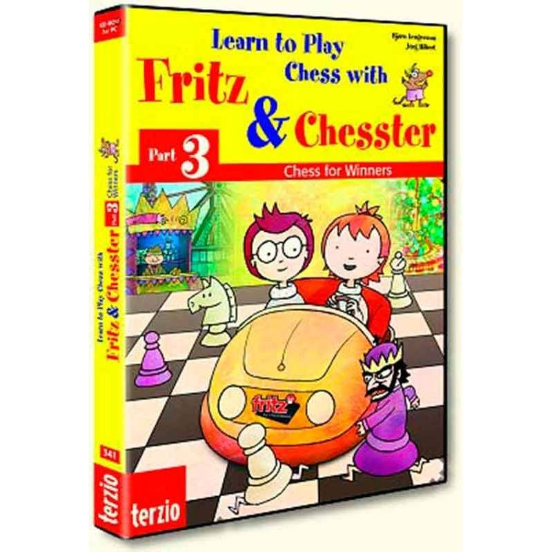 El pequeño Fritz 3. Chess for Winners programa de ajedrez para niños