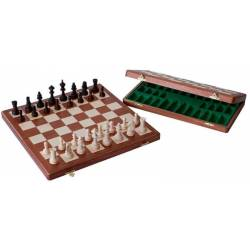 Chess walnut assembly 47 cm.