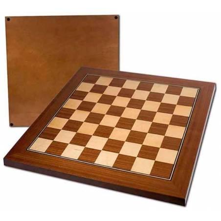 Tablero ajedrez madera profesional