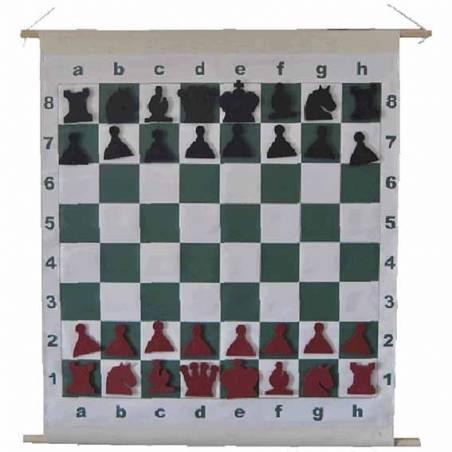 Tauler escacs Mural enrotllable magnètic