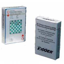 Baraja cartas ajedrez de póker